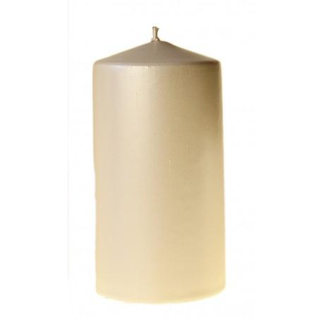 Świeca Walec Średnia 12 cm lakierowana