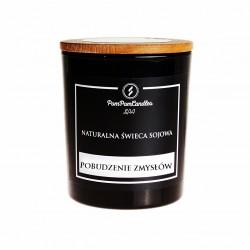 Naturalna świeca sojowa 200 g POBUDZENIE ZMYSŁÓW